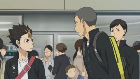 Haikyuu Season 3 Episode 01 Greetings English Dub